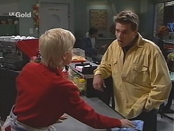 Lucy Robinson, Mark Gottlieb in Neighbours Episode 2420