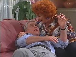 Lou Carpenter, Cheryl Stark in Neighbours Episode 2420