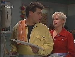 Mark Gottlieb, Lucy Robinson in Neighbours Episode 2420