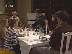 Libby Kennedy, Billy Kennedy, Danni Stark, Karl Kennedy, Susan Kennedy, Malcolm Kennedy in Neighbours Episode 2420