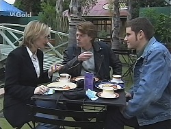 Jen Handley, Brook Allen, Luke Handley in Neighbours Episode 2421