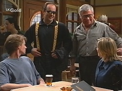 Brook Allen, Philip Martin, Lou Carpenter, Jen Handley in Neighbours Episode 2421