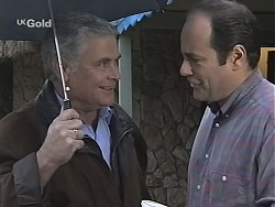 Lou Carpenter, Philip Martin in Neighbours Episode 2422