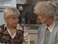 Lucy Robinson, Rosemary Daniels in Neighbours Episode 2422