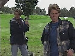 Billy Kennedy, Brett Stark in Neighbours Episode 2423