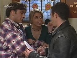 Malcolm Kennedy, Danni Stark, Stonie Rebecchi in Neighbours Episode 2423