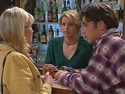 Annalise Hartman, Danni Stark, Malcolm Kennedy in Neighbours Episode 2423