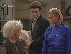 Rosemary Daniels, Joel Supple, Helen Daniels in Neighbours Episode 2423