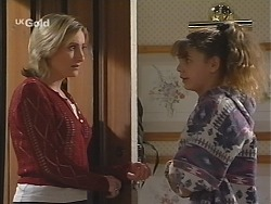 Jen Handley, Hannah Martin in Neighbours Episode 2424