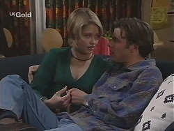 Danni Stark, Malcolm Kennedy in Neighbours Episode 2424