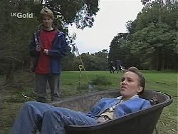Brett Stark, Libby Kennedy in Neighbours Episode 2425