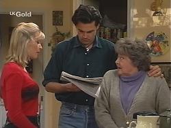 Annalise Hartman, Sam Kratz, Marlene Kratz in Neighbours Episode 2425