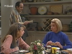 Hannah Martin, Philip Martin, Helen Daniels in Neighbours Episode 2426
