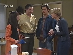 Susan Kennedy, Karl Kennedy, Malcolm Kennedy, Danni Stark in Neighbours Episode 2426