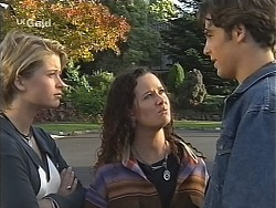 Danni Stark, Cody Willis, Malcolm Kennedy in Neighbours Episode 2426