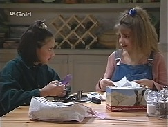 Miranda Starvaggi, Hannah Martin in Neighbours Episode 2427
