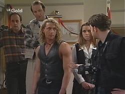 Philip Martin, Chris Perdis, Dayle, Libby Kennedy, Nick Loves in Neighbours Episode 2428