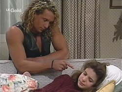 Dayle, Hannah Martin in Neighbours Episode 2428
