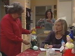Marlene Kratz, Cody Willis, Annalise Hartman in Neighbours Episode 2428