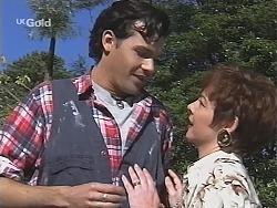 Sam Kratz, Dorris Lush in Neighbours Episode 2428