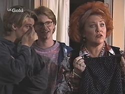 Billy Kennedy, Brett Stark, Cheryl Stark in Neighbours Episode 2430
