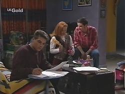 Mark Gottlieb, Ren Gottlieb, Luke Handley in Neighbours Episode 2430