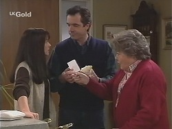 Susan Kennedy, Karl Kennedy, Marlene Kratz in Neighbours Episode 2430
