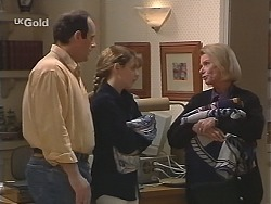Philip Martin, Hannah Martin, Helen Daniels in Neighbours Episode 2431