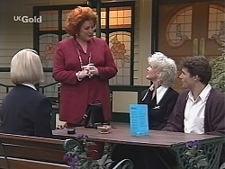 Helen Daniels, Cheryl Stark, Rosemary Daniels, Joel Supple in Neighbours Episode 2431