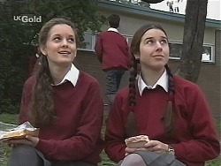 Olivia Rezzara, Melissa Drenth in Neighbours Episode 2431