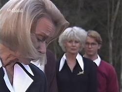 Helen Daniels, Rosemary Daniels, Brett Stark in Neighbours Episode 2432