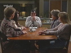 Billy Kennedy, Susan Kennedy, Karl Kennedy, Marlene Kratz, Libby Kennedy in Neighbours Episode 2432