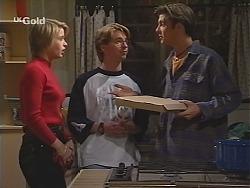 Danni Stark, Brett Stark, Malcolm Kennedy in Neighbours Episode 2432