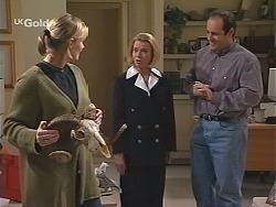 Jen Handley, Helen Daniels, Philip Martin in Neighbours Episode 2432