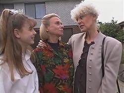 Hannah Martin, Helen Daniels, Rosemary Daniels in Neighbours Episode 2432