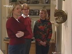 Jen Handley, Brett Stark, Helen Daniels in Neighbours Episode 2433