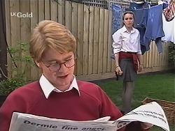 Brett Stark, Libby Kennedy in Neighbours Episode 2433
