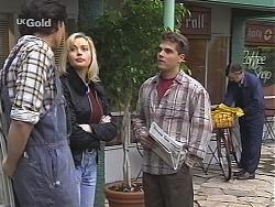Sam Kratz, Annalise Hartman, Mark Gottlieb, Postman in Neighbours Episode 2434