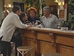 Stonie Rebecchi, Cody Willis, Cheryl Stark, Lou Carpenter in Neighbours Episode 2434