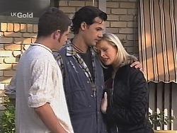 Luke Handley, Sam Kratz, Annalise Hartman in Neighbours Episode 2434