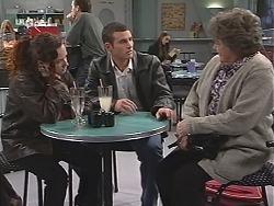 Cody Willis, Stonie Rebecchi, Marlene Kratz in Neighbours Episode 2435
