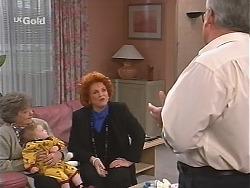 Marlene Kratz, Louise Carpenter (Lolly), Cheryl Stark, Lou Carpenter in Neighbours Episode 2435