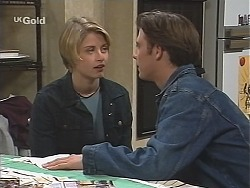 Danni Stark, Malcolm Kennedy in Neighbours Episode 2435