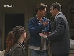 Cody Willis, Malcolm Kennedy, Stonie Rebecchi in Neighbours Episode 2435