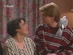 Janine Stark, Brett Stark, Dahl in Neighbours Episode 2435