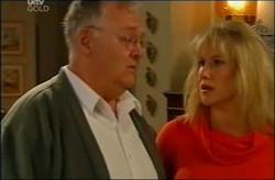 Harold Bishop, Trixie Tucker in Neighbours Episode 4408