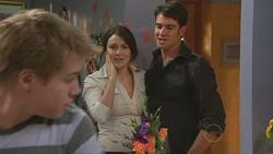 Ringo Brown, Rosie Cammeniti, Frazer Yeats in Neighbours Episode 5280