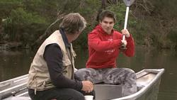 Richard Aaronow, Declan Napier in Neighbours Episode 5282
