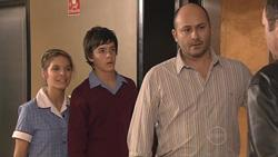 Rachel Kinski, Zeke Kinski, Steve Parker, Karl Kennedy in Neighbours Episode 5285