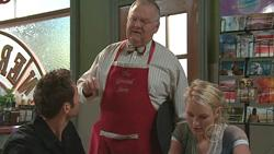 Adam Rhodes, Harold Bishop, Pepper Steiger in Neighbours Episode 5289